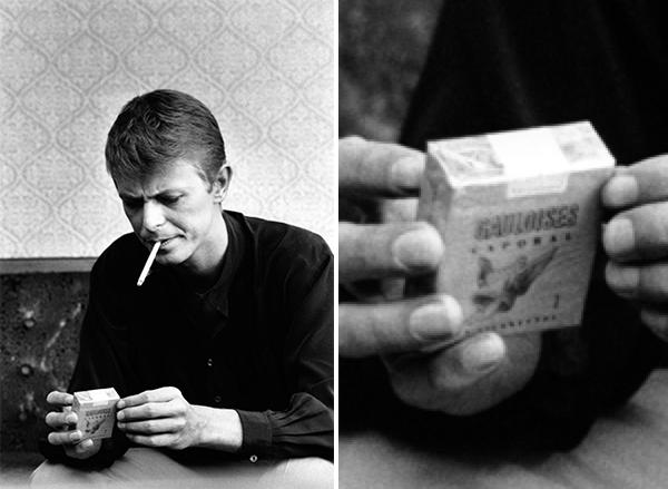 Time takes a Gauloise Cigarette