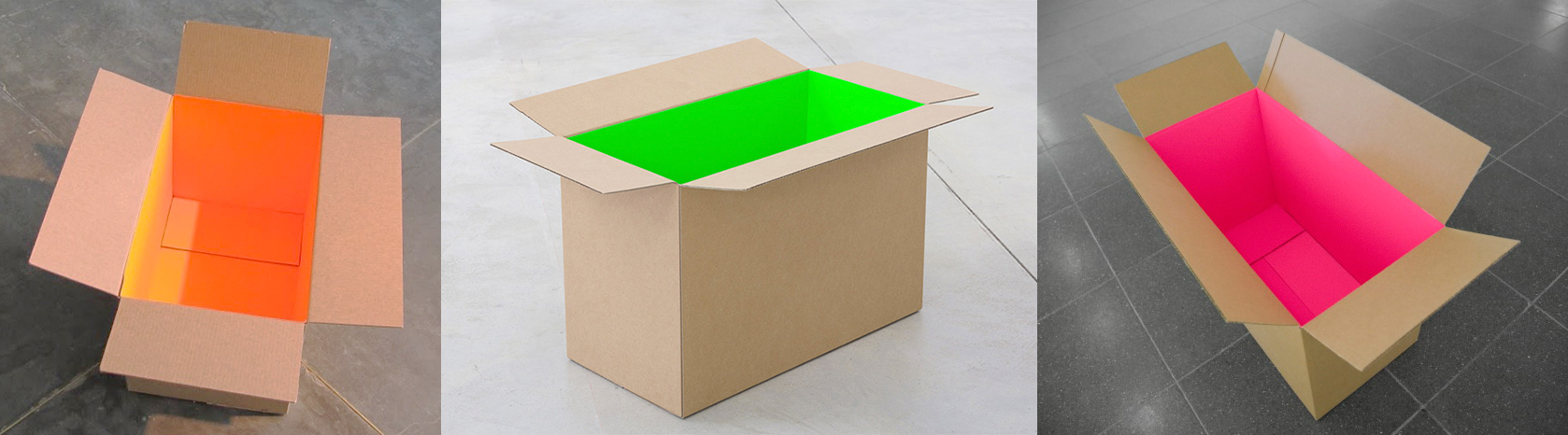 fluorescent box interiors