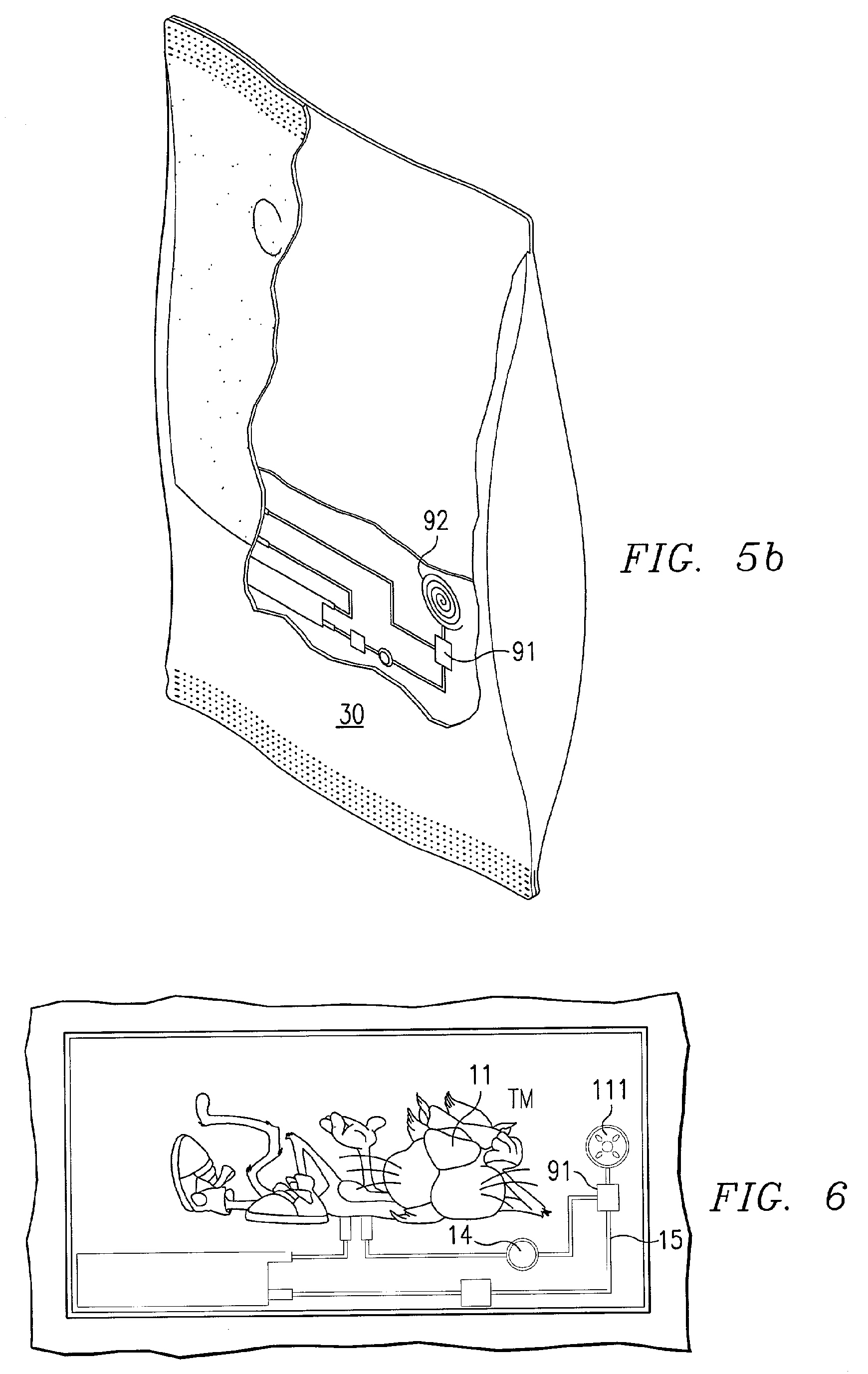 electroluminescent packaging patent