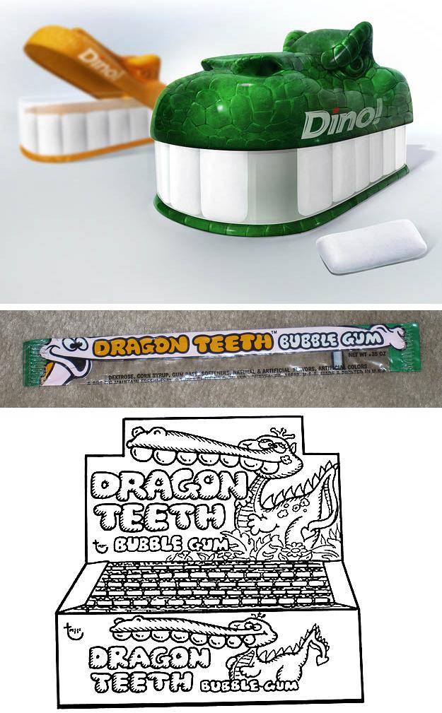 DragonDinoTeethGum
