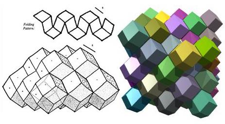 Rhomicdodecahedrons