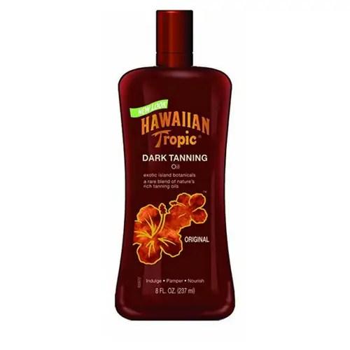 Hawaiian Tropic Dark Tanning Oil No SPF