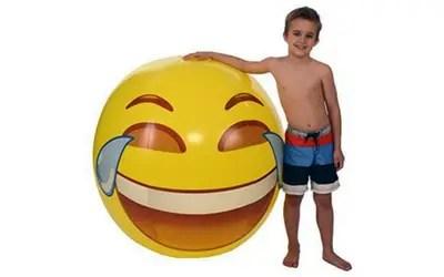 Laughing Emoji Beach Ball Picture