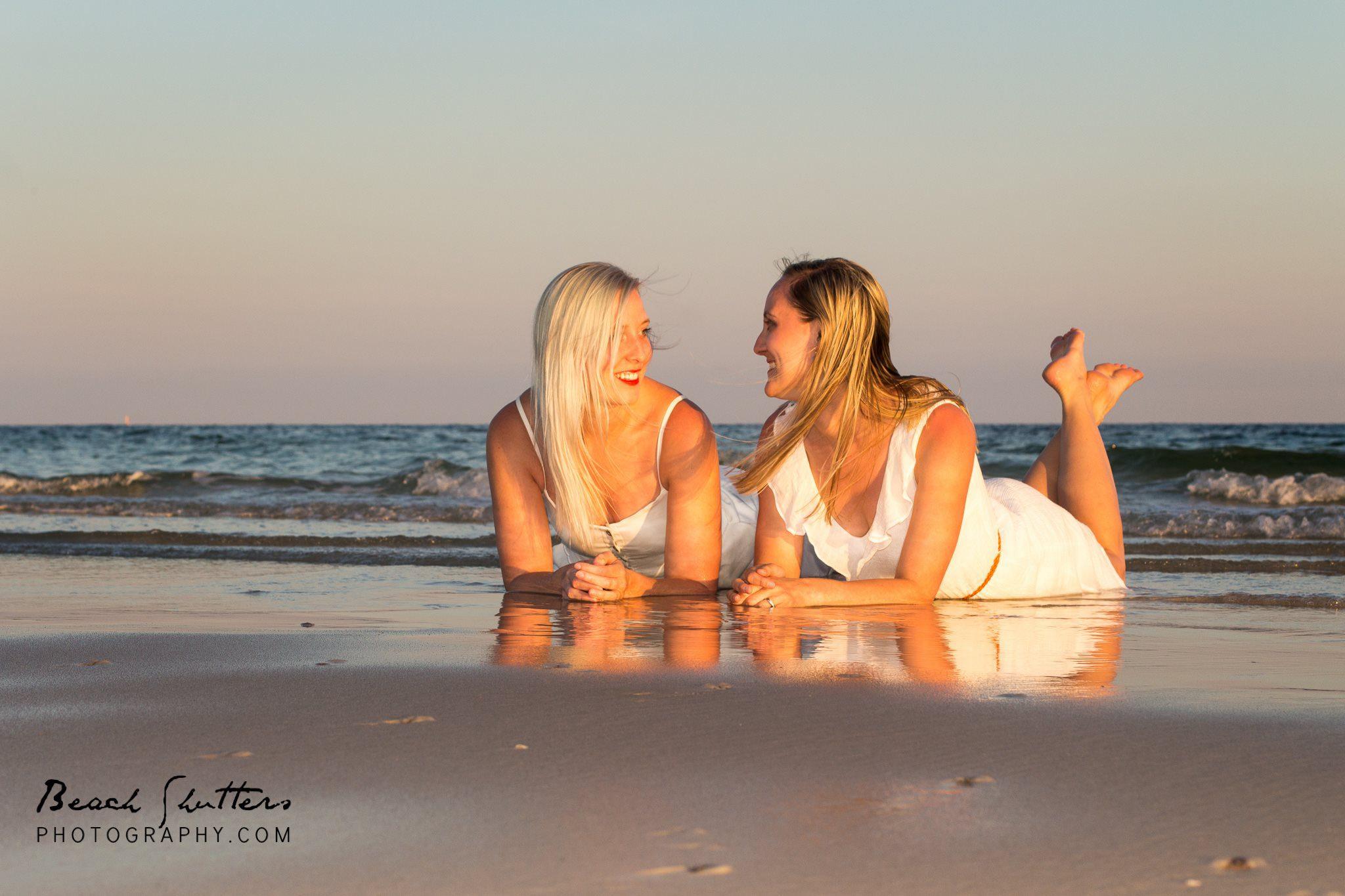 Siblings Beach Shutters Photography
