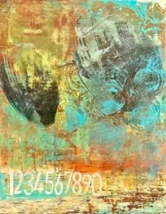 Lisa Bennett- Chaos - Painting