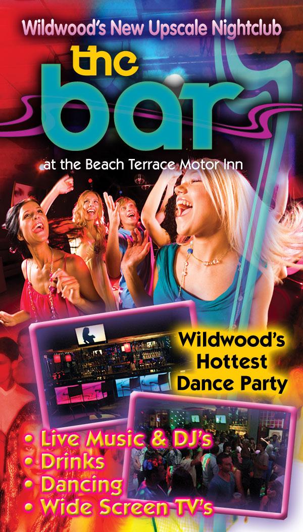 The Bar At The Beach Terrace Motor Inn New Wildwood