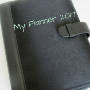 Paper Organization Series Part Four- Franklin Planner