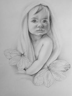 Pencil piece by Maria Danil