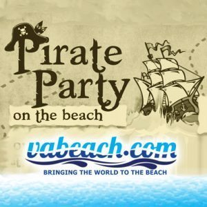 Virginia Beach Pirate Party on the Beach
