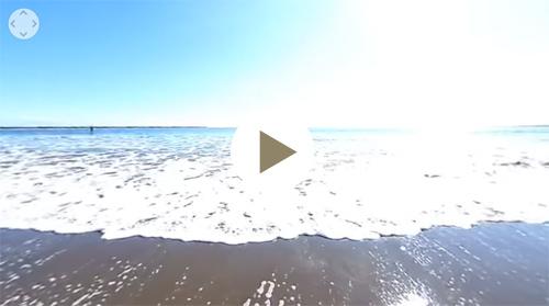 大洗サンビーチ海水浴場-VR動画1