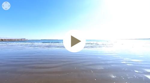 大洗サンビーチ海水浴場-VR動画3