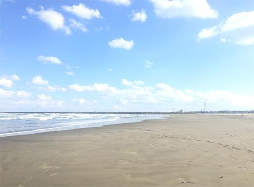 波崎海水浴場-ビーチ