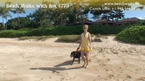 photo of Rox and Lexi on Beach Walk 773 - The Currency of Happiness