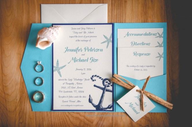 Wedding Invitations For Beach
