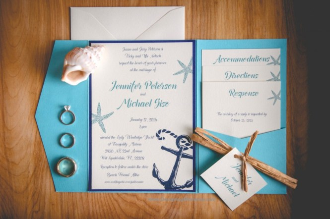 Stylish And Original Beach Wedding