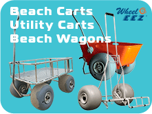 WheelEEZ® Beach Carts