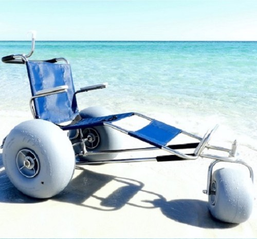 EZ Roller Beach Wheelchair