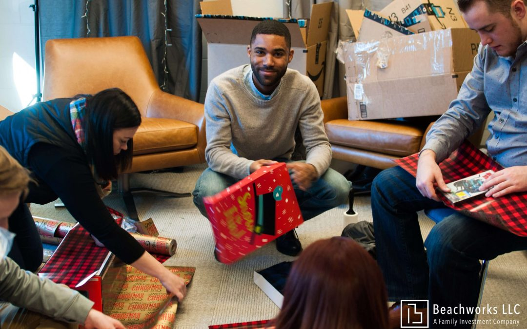 Beachworks Gives Back to Make Holiday Season Brighter for Families