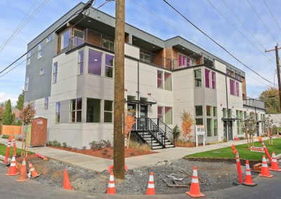 Crown Hill New Construction Live-Work Townhomes