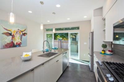 Kitchen Facing Patio View