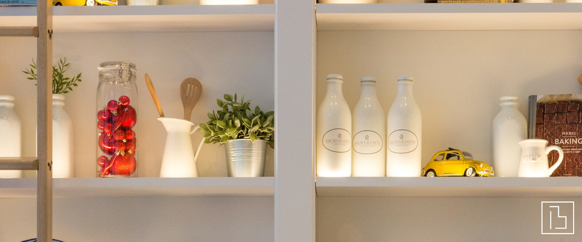 A tidy pantry shelf - Beachworks LLC