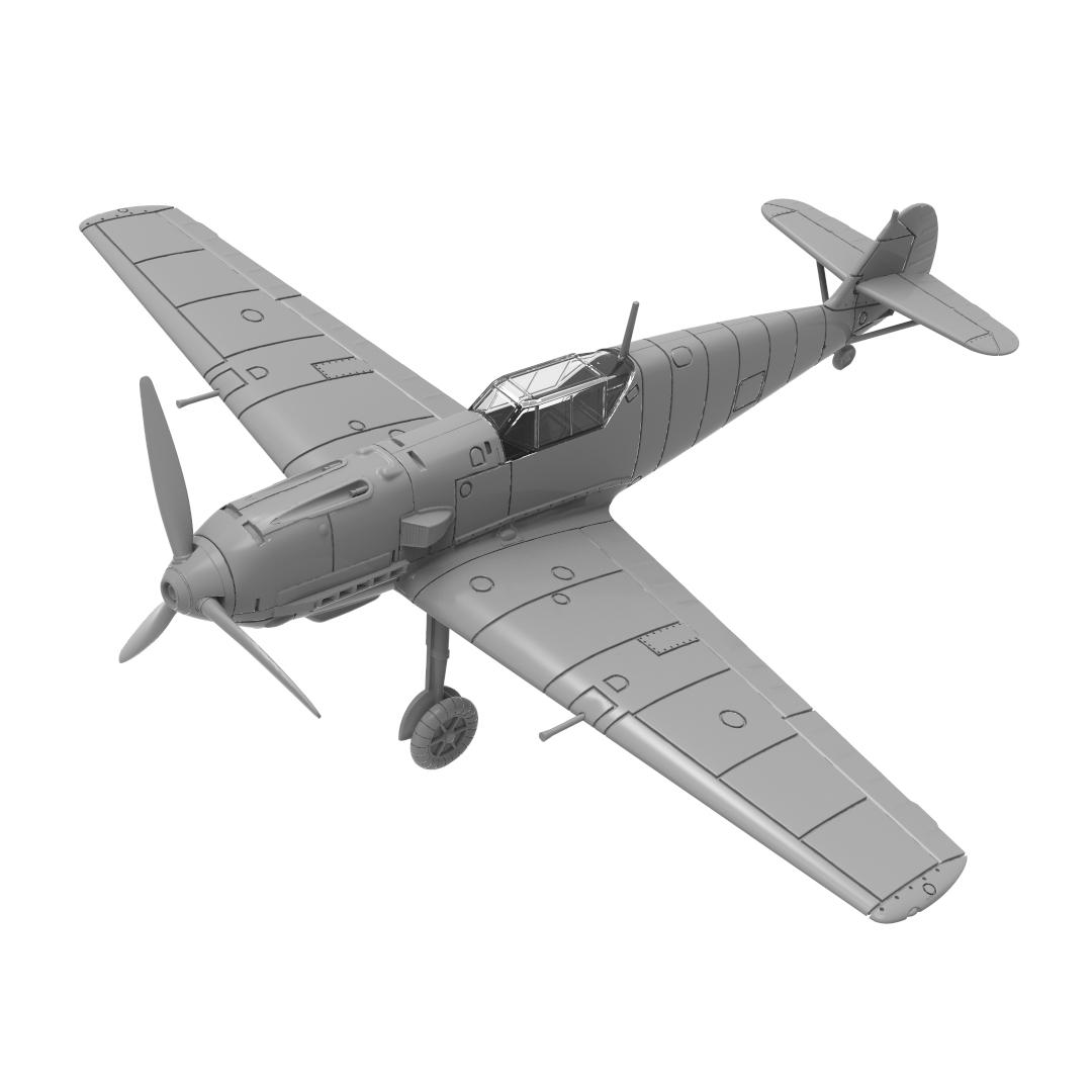 Bf109E Model Front Quarter