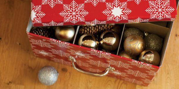 Organized Christmas Decorations