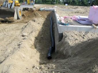 August 18, 2011 Gutter drains