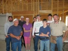 10/12/11 Crew: Dave & Bob Vallee, Ray Warner, Hannah & Michaela Reynolds, Brian, Devan, Brannon, & Terry Miller