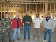 10/31/11 Crew: Brian, Tommy, Pastor Bill, Dave, Terry.