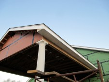 11/21/11 Soffits for the carport.