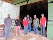 11/22/11 Cleanup crew: Pastor Bill, Hannah, Billy, Dave, Bob, & Michaela