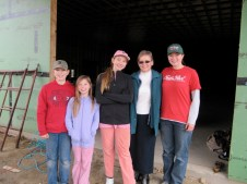 11/22/11 Reynolds kids with Sue Goodfellow.