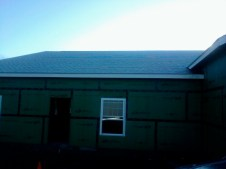 10/28/11 First frost on the roof!