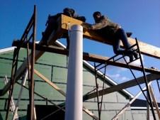 11/11/11 Carport column