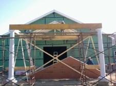 11/12/11 Carport taking shape.