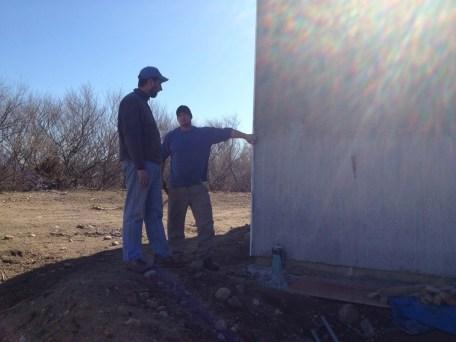 3/14/12 Lenny & Pastor Bill talking wiring