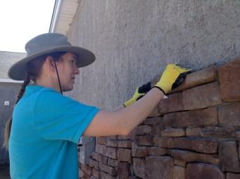 3/23/12 Christy Reynolds fitting stones