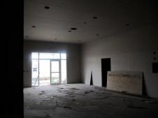 3/17/12 Looking at vestibule from fellowship hall hallway