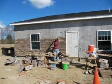 3/21/12 Chris building it up
