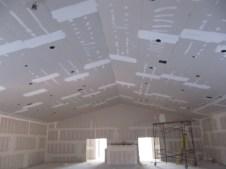 3/26/12 auditorium ceiling taped & mudded