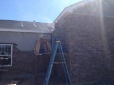 4/28/12 Finishing the wall!