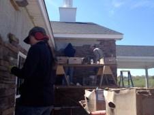 4/28/12 Christy & Matt working where Brannon, Michaela, & Hannah left off yesterday
