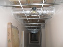 4/12/12 Dropped (acoustic) ceiling–Thanks, John & Ed!