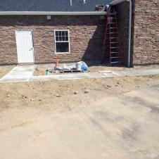 5/12/12 Sidewalks finished