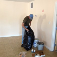 6/30/12 Pastor Bill cleaning up