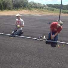6/30/12 Brannon & Matt fixing a drain pipe
