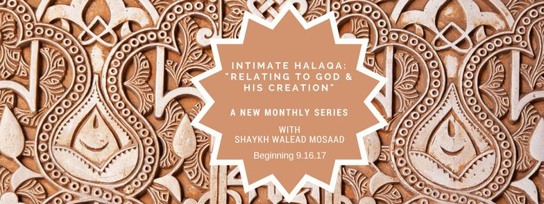 intimate halaqa banner