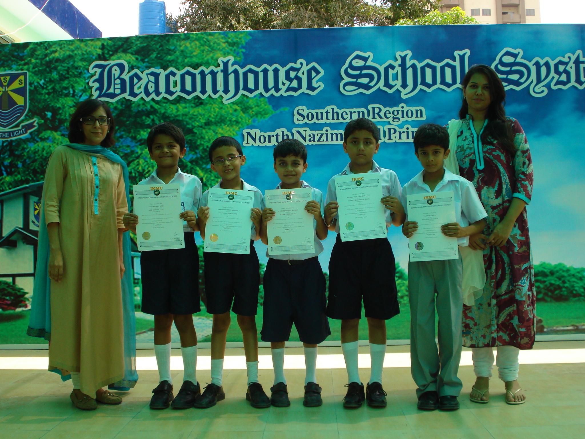 International Kangaroo Math Contest Beaconhouse North Nazimabad Primary