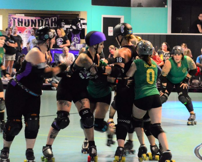 Thunder City Derby Sirens are victorious